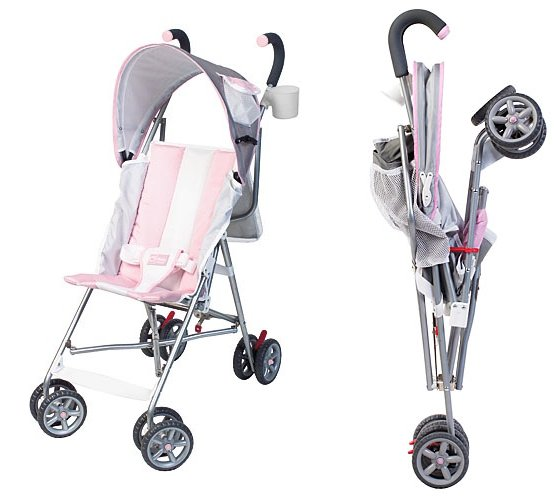 Umbrella Stroller. (Image courtesy of Kolcraft). These strollers usually do